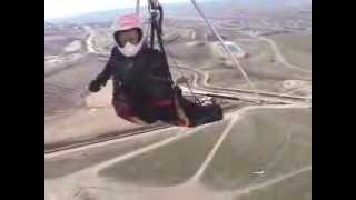 Hang gliding at Point of the Mountain