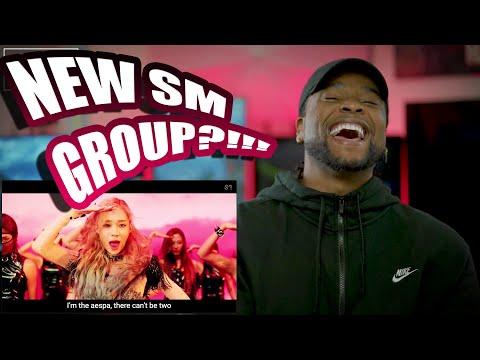 aespa 에스파 'Black Mamba' MV | DEBUT REACTION!!!