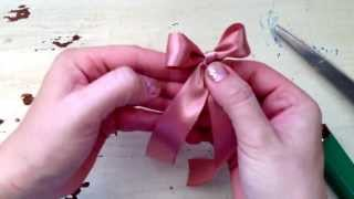 Tutorial Make the Perfect Bow Fast