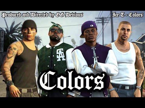 GTA 5 - Ice T - Colors (music Video)