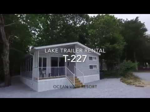 Ocean View Resort Campground Lake Rental T-227