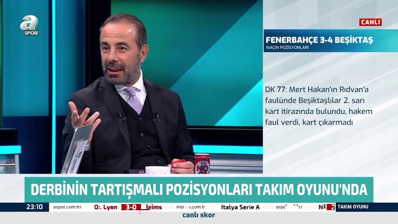 Beşiktaş'ın 3. Golünde Faul Var mı? Erman Toroğlu Açıkladı (Fenerbahçe 3-4 Beşiktaş) 29.11.2020