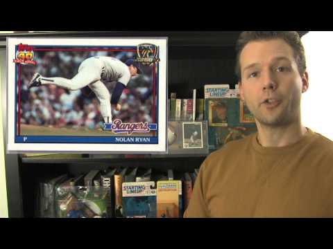 Top Ten Nolan Ryan Baseball Cards