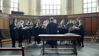 Cambridge Choir in de Oude Kerk Amsterdam (1): Sing Joyfully (William Byrd)