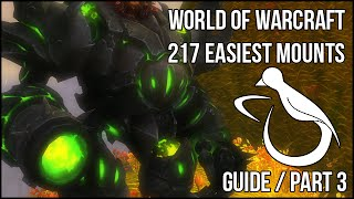 The 217 Easiest Mounts (Guide) - Part 3 - Achievements & Dungeon Drops