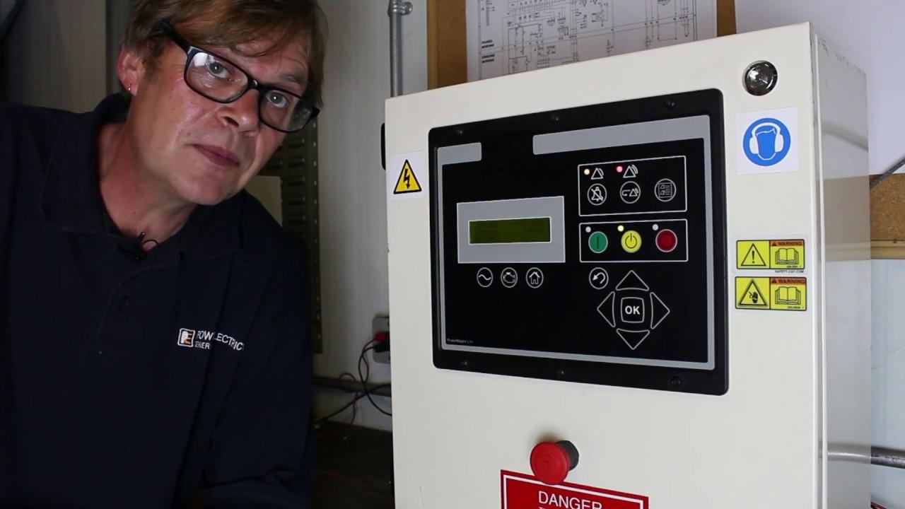 How To Start Generators Using Powerwizard Control Panels Youtube Olympian Generator Wiring Schematic