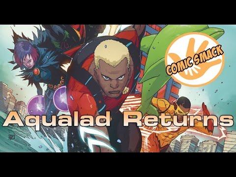 """""""Aqualad Returns"""" Teen Titans #6"""