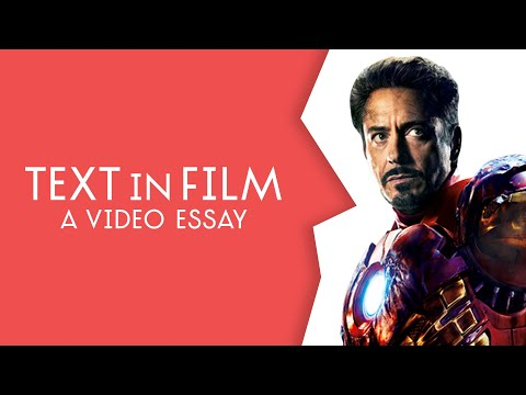 Text in Film - a video essay | Flick Head