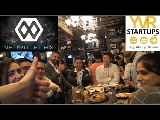 Bringing the City Together with NeuroTechX and YVR Startups