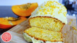 Pumpkin Loaf Recipe With Cream Cheese | Нежный тыквенный кекс