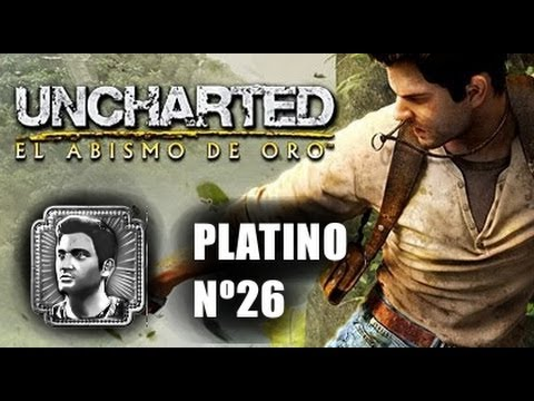 Trofeo Platino nº 26 Uncharted El abismo de oro PSVITA