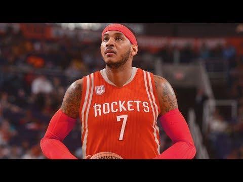 Rockets Desperate Carmelo! Lose Mbah a Moute! 2018 NBA Free Agency