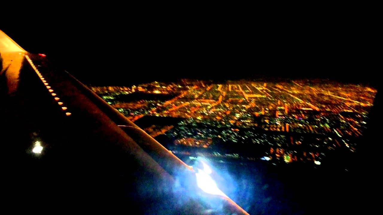 Taking off from Riyadh airport at night. - YouTube