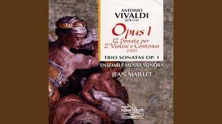 Sonate No.4 en mi majeur en trio, Op. 1, RV66 (F.XIII No.20) : Sarabanda