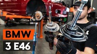 Menjava spredaj in zadaj Blažilnik BMW 3 Convertible (E46) - video navodila