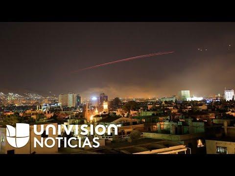 Siria derriba 13 misiles con su 'anillo de acero', según la televisión estatal
