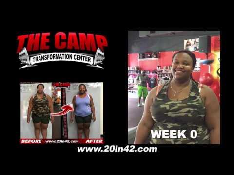 Jacksonville FL Weight Loss Fitness 6 Week Challenge Results - Jullian Walters