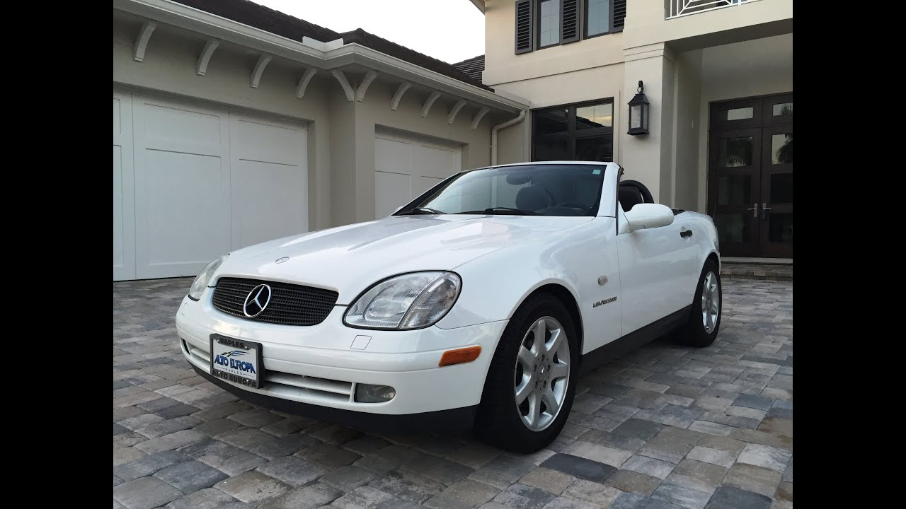 2000 Mercedes Benz Slk230 Kompressor For Sale By Auto Europa Naples