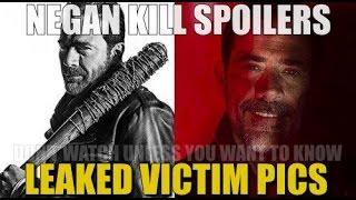the walking dead season 7 episode 1 spoilers leaked negan kill scene