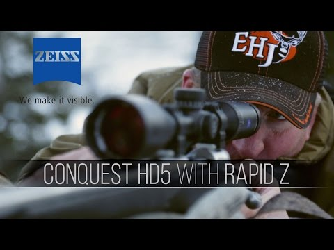 Tips and Tactics: The Zeiss Conquest HD5 with Rapid Z Reticle