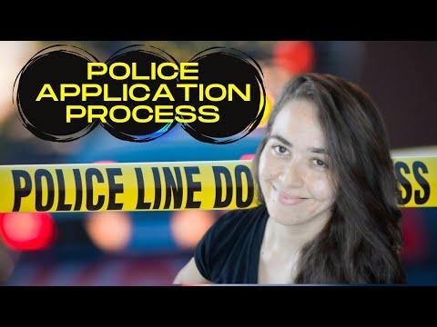 My Police Application/Hiring Process