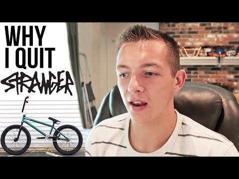 No Longer a BMX Pro: Quitting Stranger