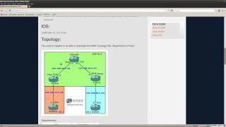 BGP Synchronization lab in GNS3