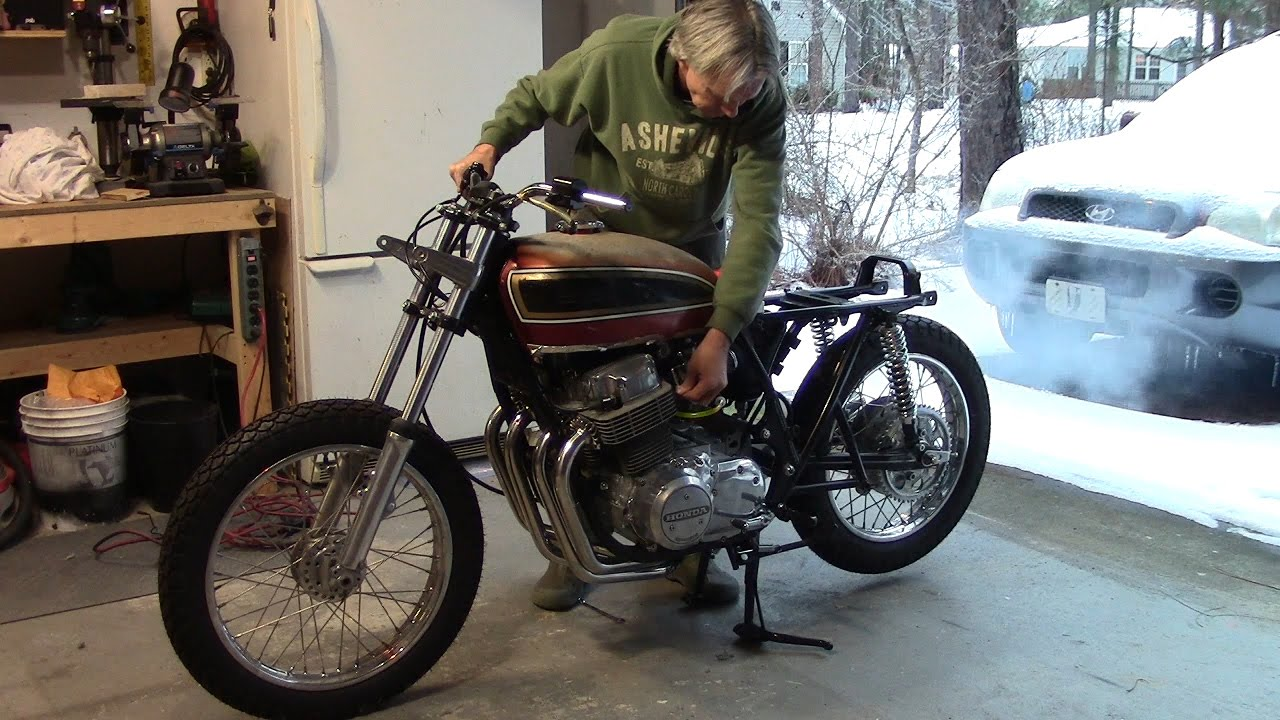 maxresdefault 73 honda cb750 custom build part 30 exhaust install & start up  at readyjetset.co
