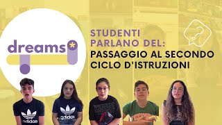 DREAMS Project | Students speak about the transition to Secondary School