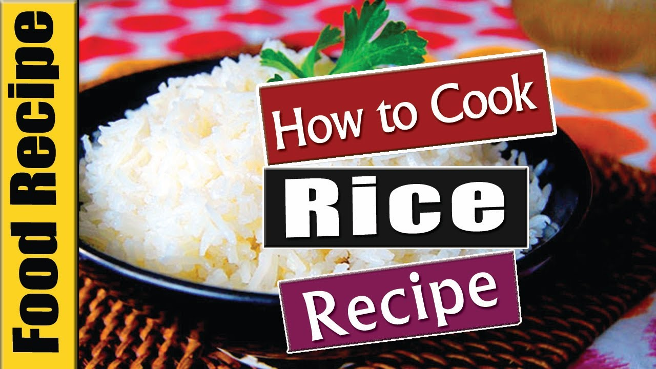 Food Tutorials  How To Cook Parboiled Rice  [chef Winston]