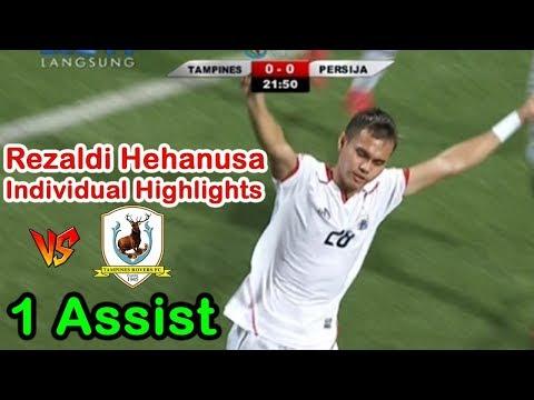 Individual Highlights Skills Rezaldi Hehanusa vs Tampines Rovers | AFC Cup | 24/04/2018