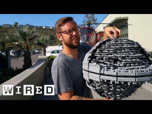 Star Wars Lego Death Star Gets Destroyed with a Baseball Bat | Star Wars Lego Destruction