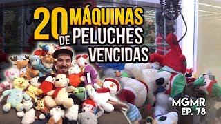 20 DÍAS de MÁQUINAS de Peluches - MiniGames en el Mundo Real EP. 78