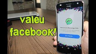 Lançamento! Facebook LIBEROU Novo App - MESSENGER KIDS para Android