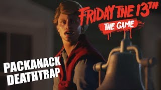 Friday The 13th: The Game Counselor GAMEPLAY | PACKANACK DEATHTRAP