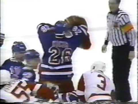 "NYR@DET 12/17/93 ""detroit broadcast"""