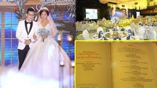 Thực đơn đám cưới 6 sao của em gái Trấn Thành sang chảnh đến mức ai cũng ngỡ ngàng..