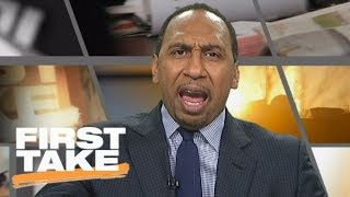 Stephen A. Smith goes off on Dolphins OL coach being allowed to resign | First Take | ESPN