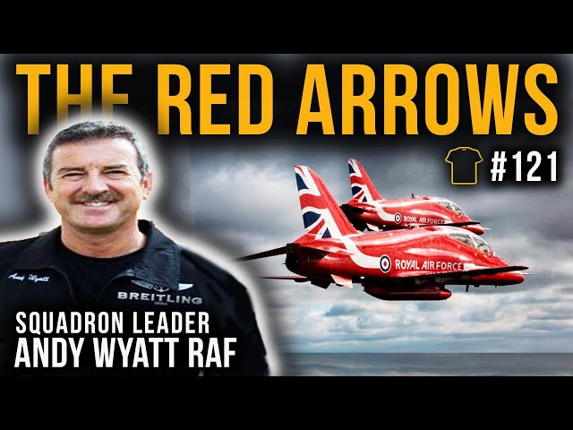 From Red Arrows To 747 Pilot | Squadron Leader Andy Wyatt | Bought The T-Shirt Podcast #121