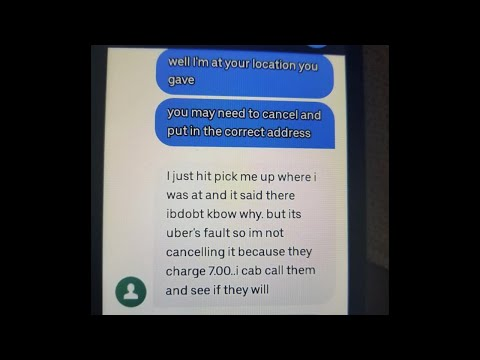 Uber Driver Gets Paid Over Riders Mistake