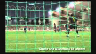 PES 2008 - Wii gameplay 10-12-07