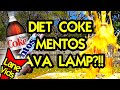 DIET COKE AND MENTOS LAVA LAMP? (Science Experiment)