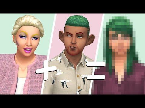 RANDOM GENETICS CHALLENGE // The Sims 4: Create A Sim