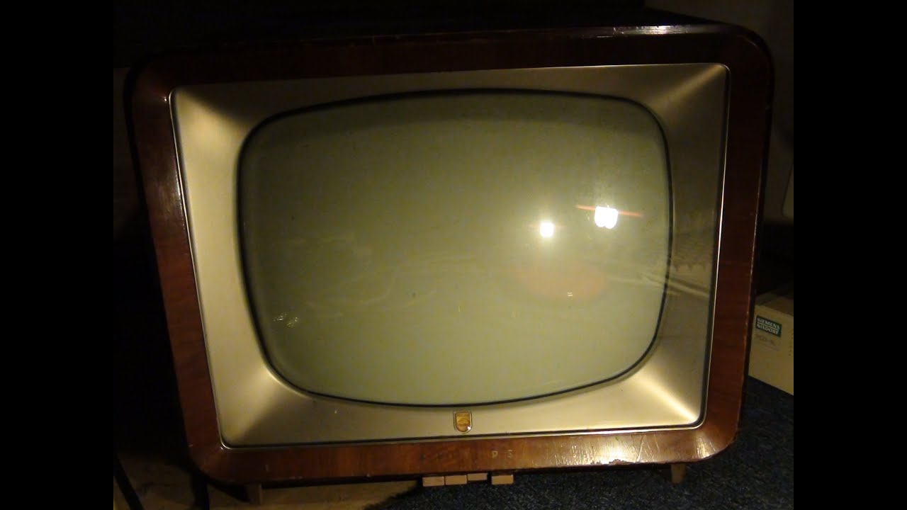 Philips Tv 17tx210a 1958 Youtube