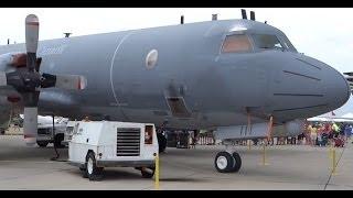 Royal Canadian Air Force Lockheed CP-140 Aurora HD Close-Up Walkaround - Rockford Airfest 2014