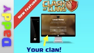 New SUPERCOOL official clash resource clan search in clashofclans.com