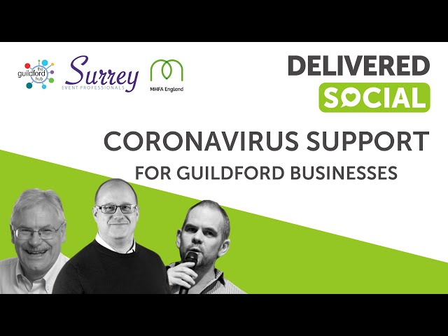 Coming together in Guildford to Support Businesses affected by Coronavirus