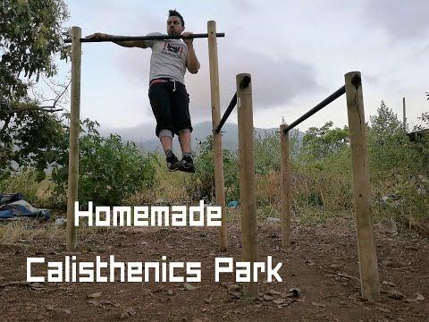 DIY Homemade Calisthenics Park with Less than 70$ / How to Make