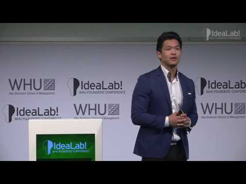 Han Jin, founder of Lucid VR at IdeaLab! 2016