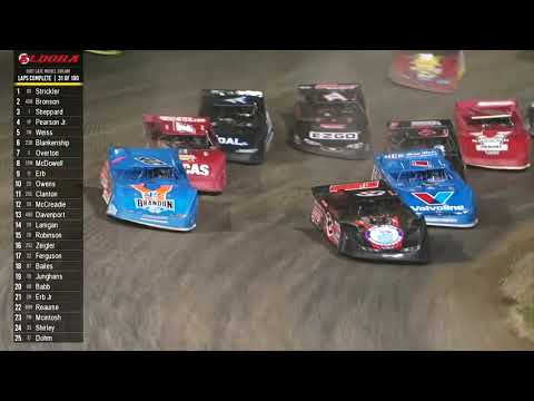 6.8.19 Dirt Late Model Dream  |  Feature Highlights